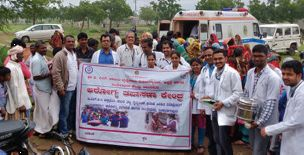 Health check up for flood relief activities